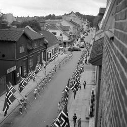 Serie. Norgesmesterskap i friidrett, Sarpsborg, Østfold. Fot