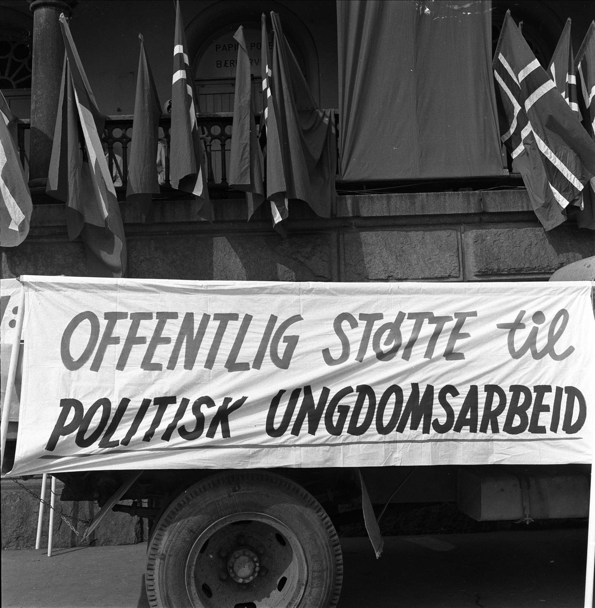 1. mai-tog, Oslo, 01.05.1959.