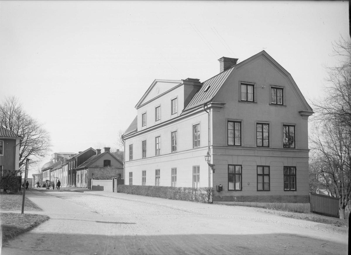 Övre Slottsgatan, Fjärdingen, Uppsala 1901 - 1902
