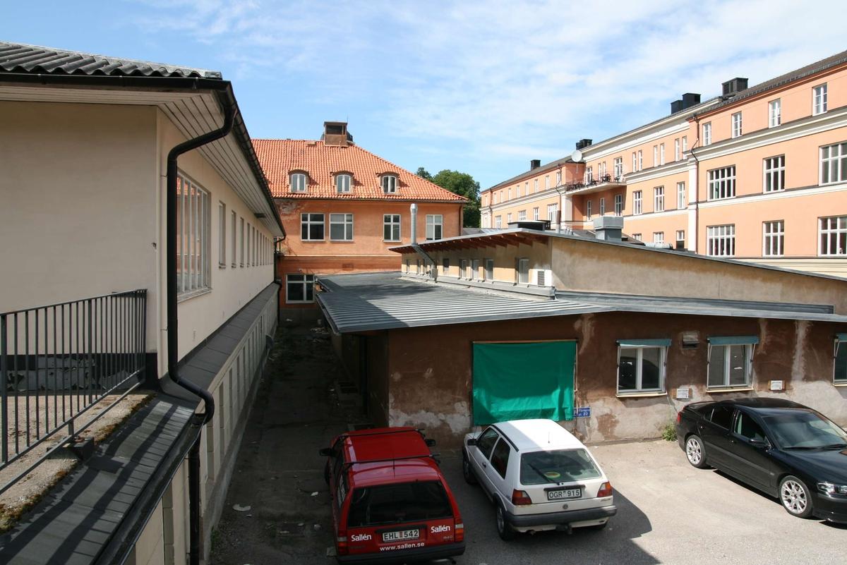 Akademiska sjukhuset, Uppsala 2008. Hus A5, f.d. röntgentillbyggnaden från 1952