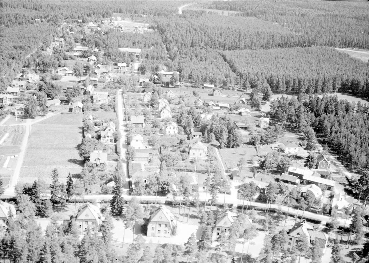 Flygfoto över Älvkarleby, Uppland 1947