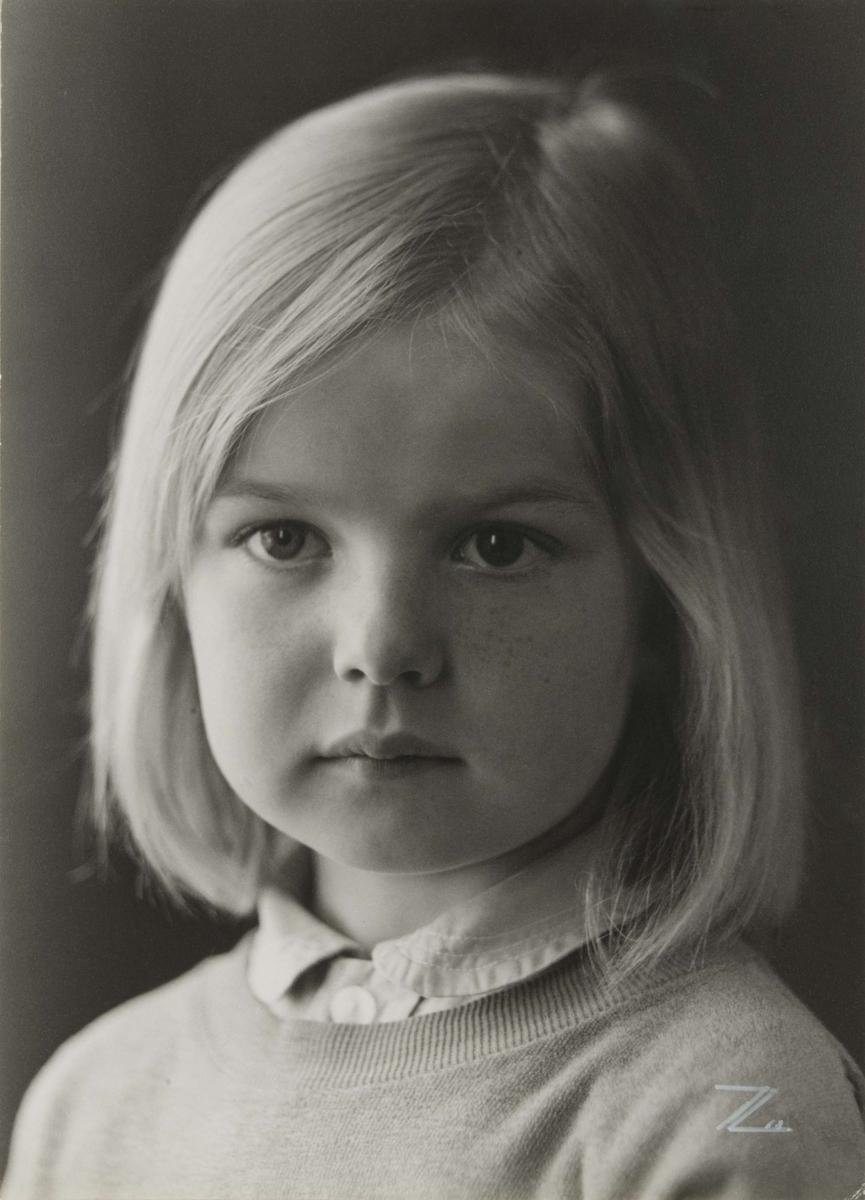 Barnporträtt - Lillan Nordström, Uppsala 1968