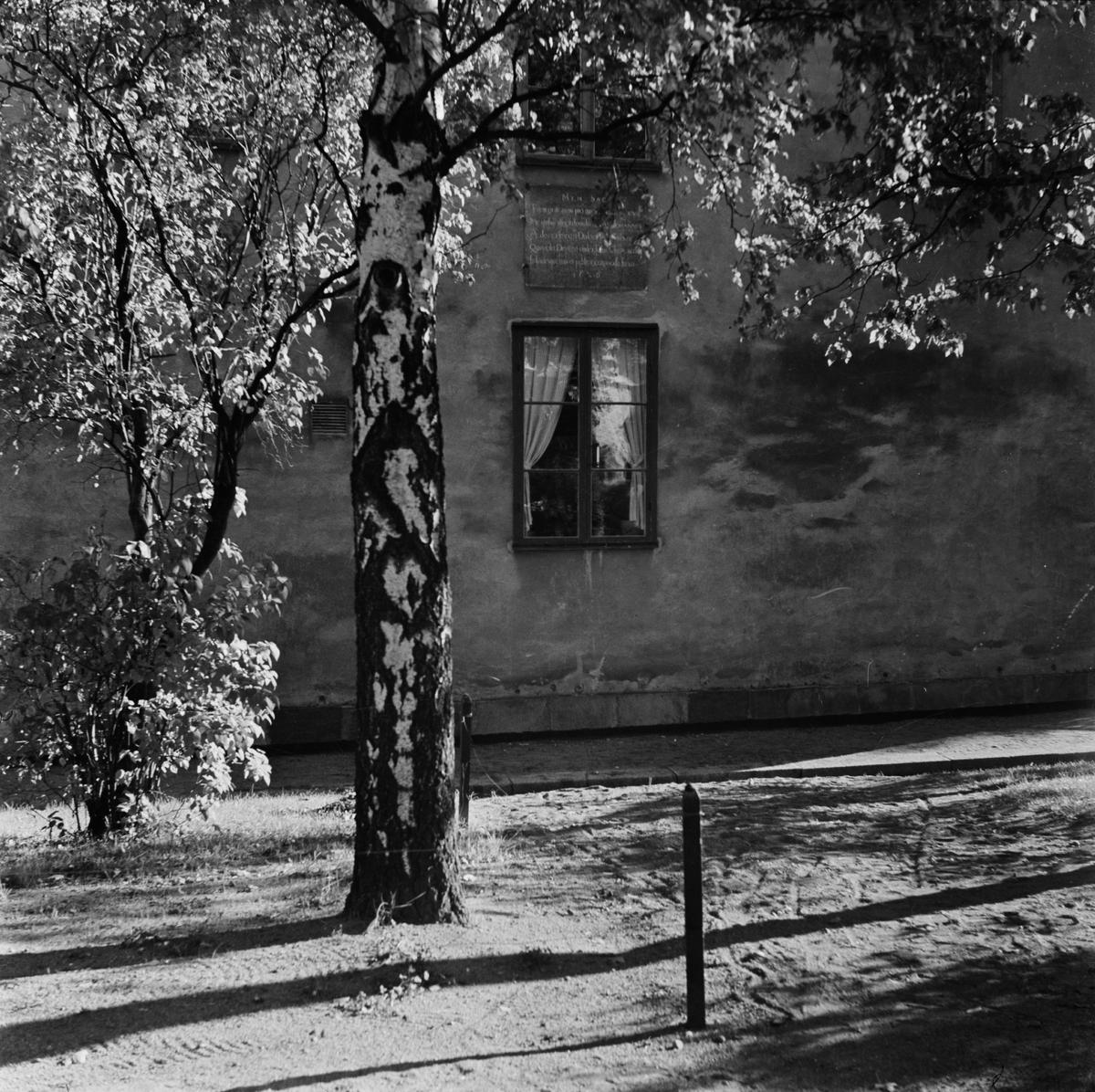 Byggnad, sannolikt Uppsala