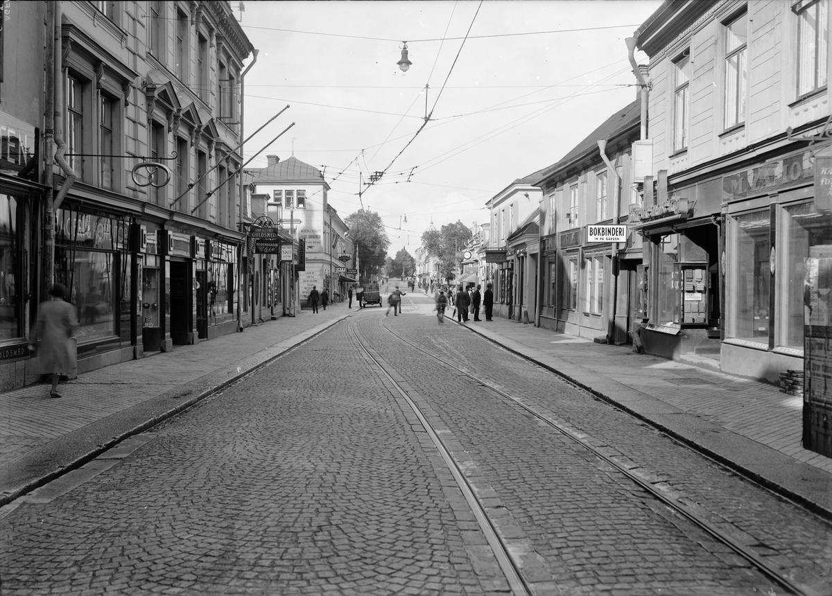 Vaksalagatan, Uppsala 1933