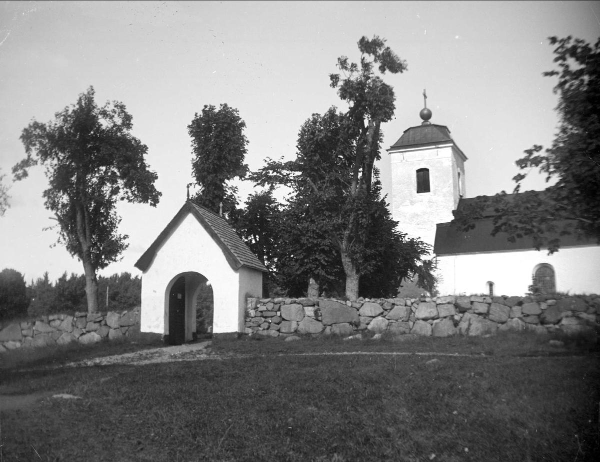 Eds kyrka, Uppland 1922