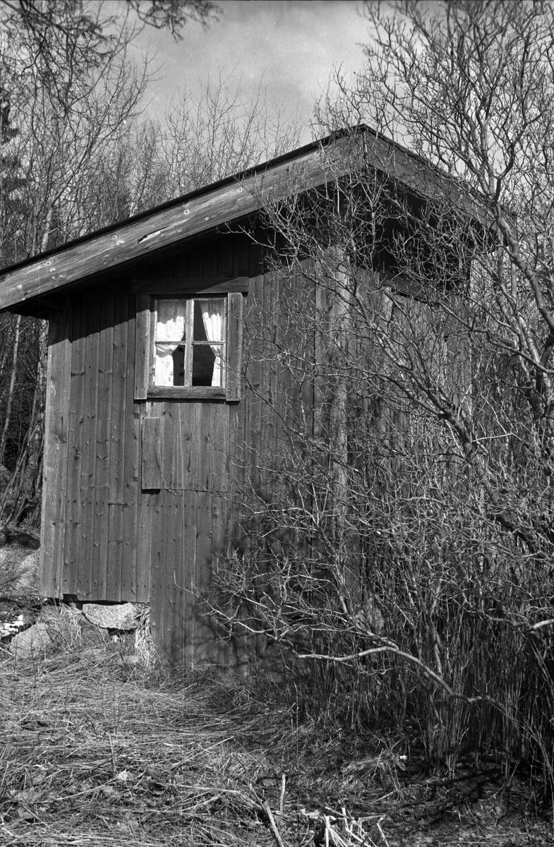 Avträde tillhörande före detta sergeantbostället Nyby 1:4 i Ärentuna socken, Uppland 1977