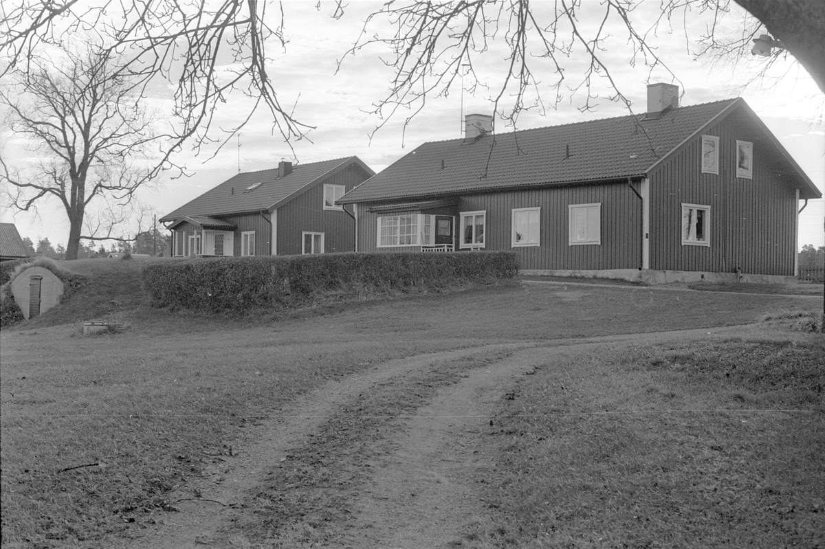 Arbetarebostäder, Sävja gård, Sävja 2:1, 7:1, 12:1, Sävja, Danmarks socken, Uppland 1978