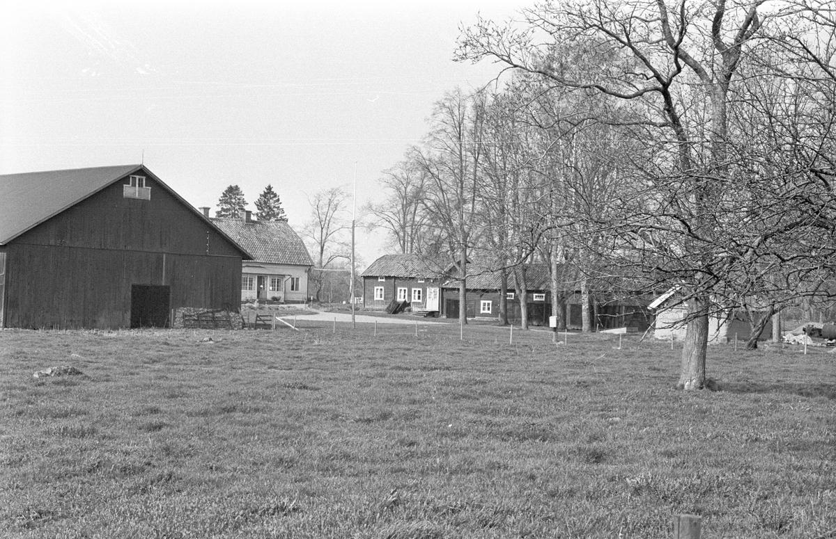 Vy över Fullerö 18:22, Hämringe, Gamla Uppsala socken, Uppland 1978