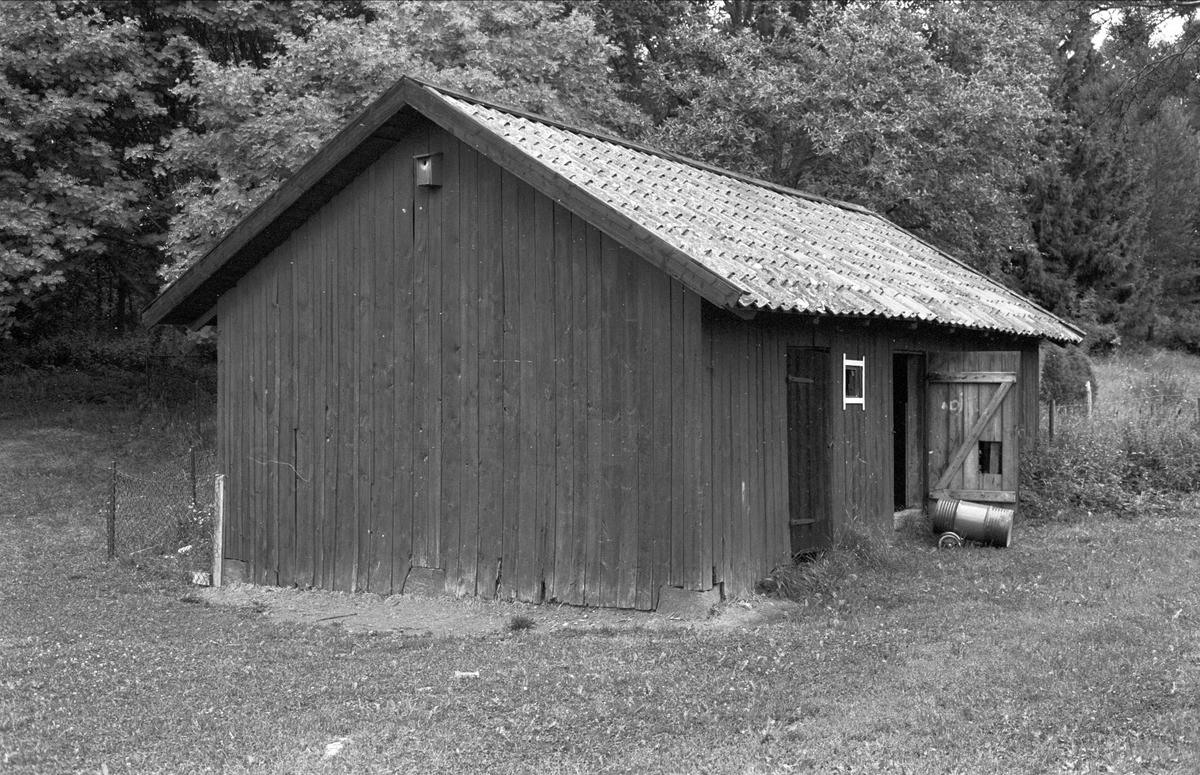 Magasin, Gråmunkehöga gård, Gråmunkehöga 5:3, Funbo socken, Uppland 1982