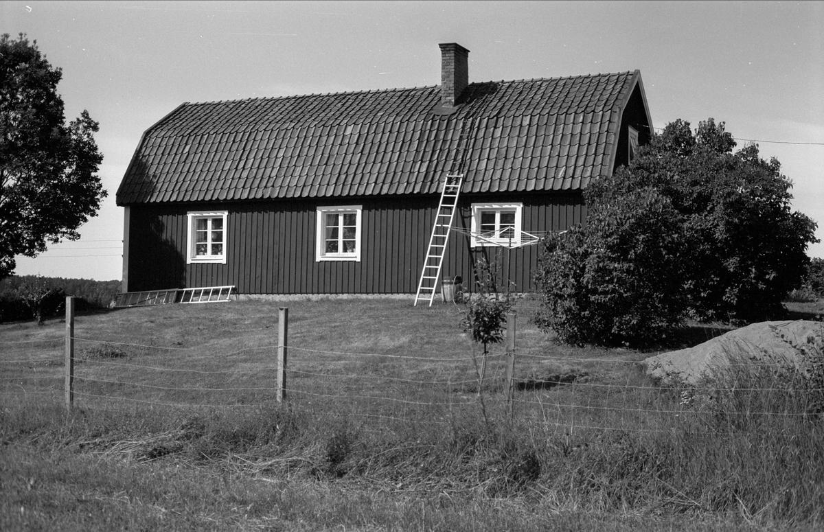 Bostadshus, Strömgården, Halmby 5:2, Halmby, Funbo socken, Uppland 1982
