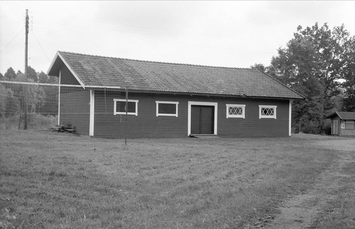 Godsmagasin, Lännaholms järnvägsstation, Länna, Almunge socken, Uppland 1987