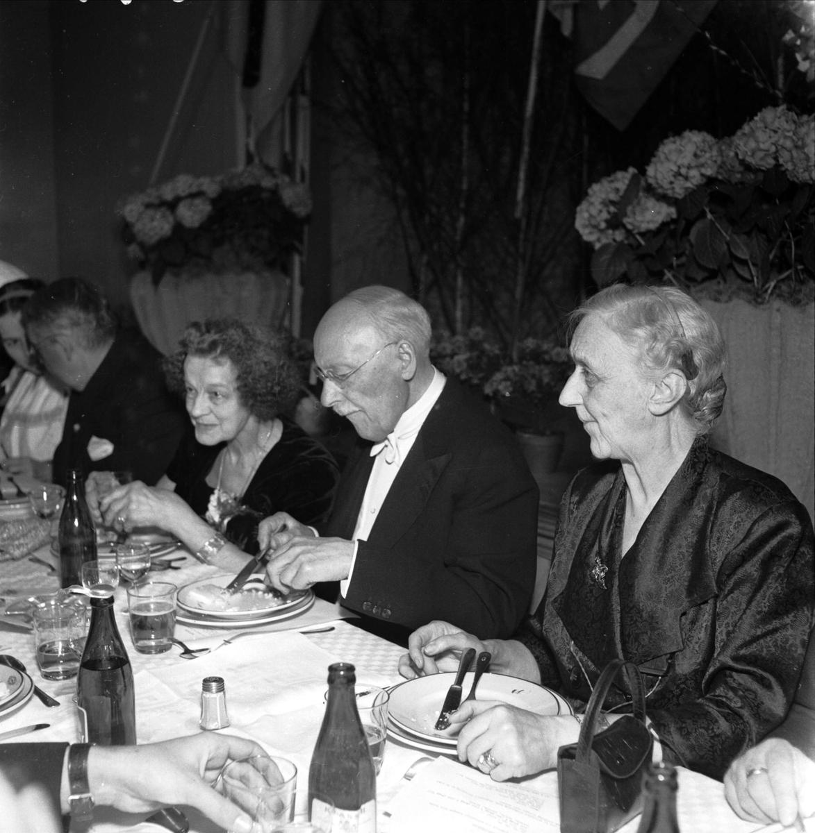 Orphei Drängar och Siljanskören firar Hugo Alfvén 80 år, Uppsala 1952