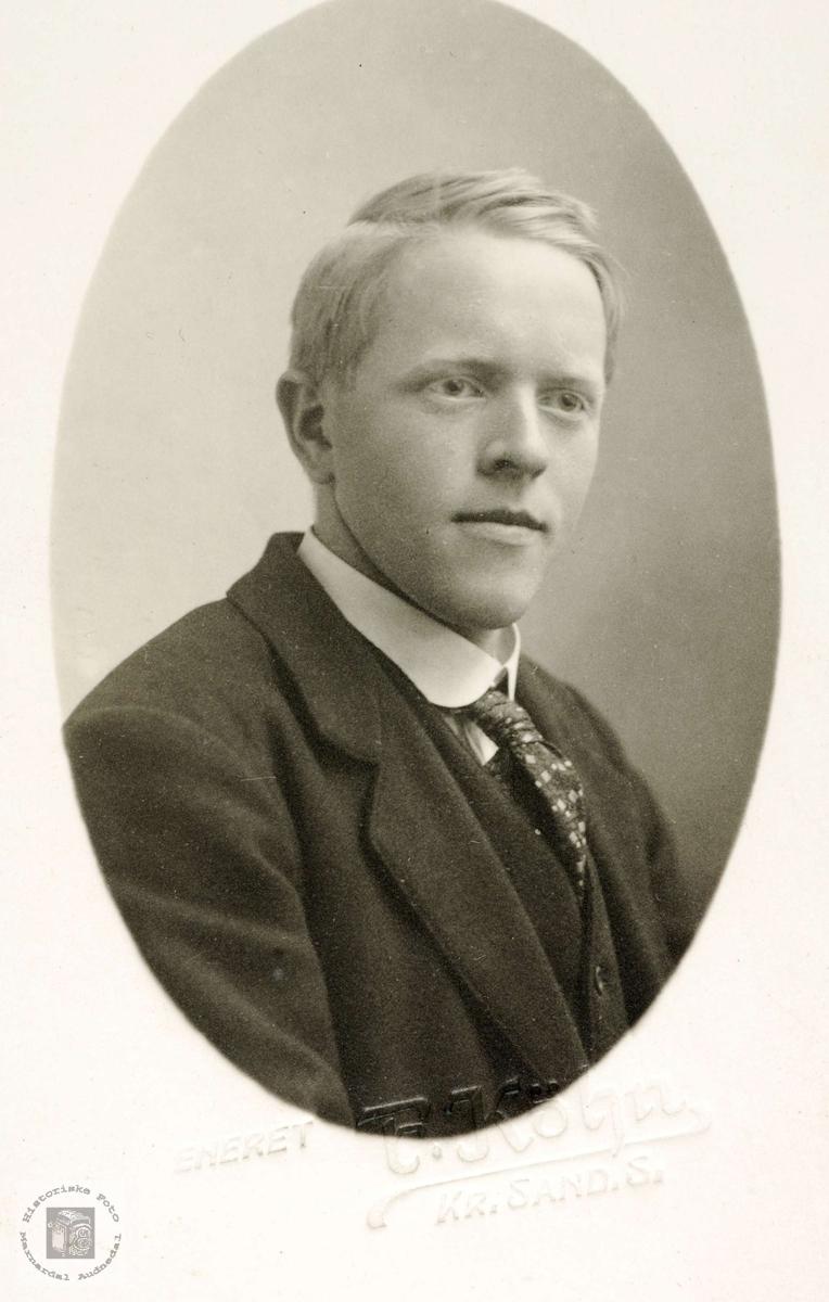 Portrett av Nils Øydna. Grindheim.