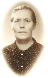 Portrett av Siri Høyland, Grindheim.