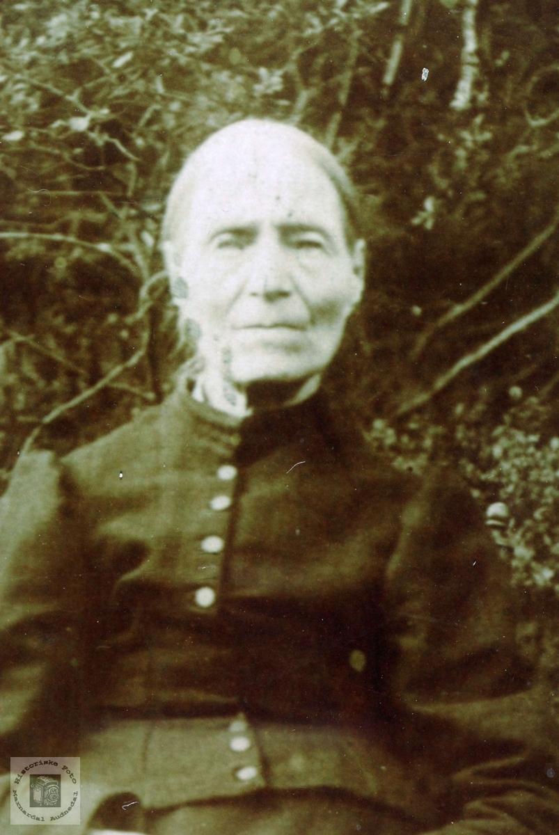Portrett av Anna Vårdal, Grindheim.