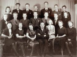 Konsmo realskole 1943/44 - 1944/45.
