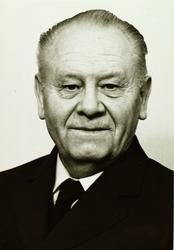 Portrett av Sverre Bjerland.