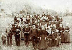 Bryllup i Brandsdal, Grindheim senere Audnedal.