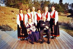 Familien Johansen med røtter på Sveindal, Grindheim Audnedal