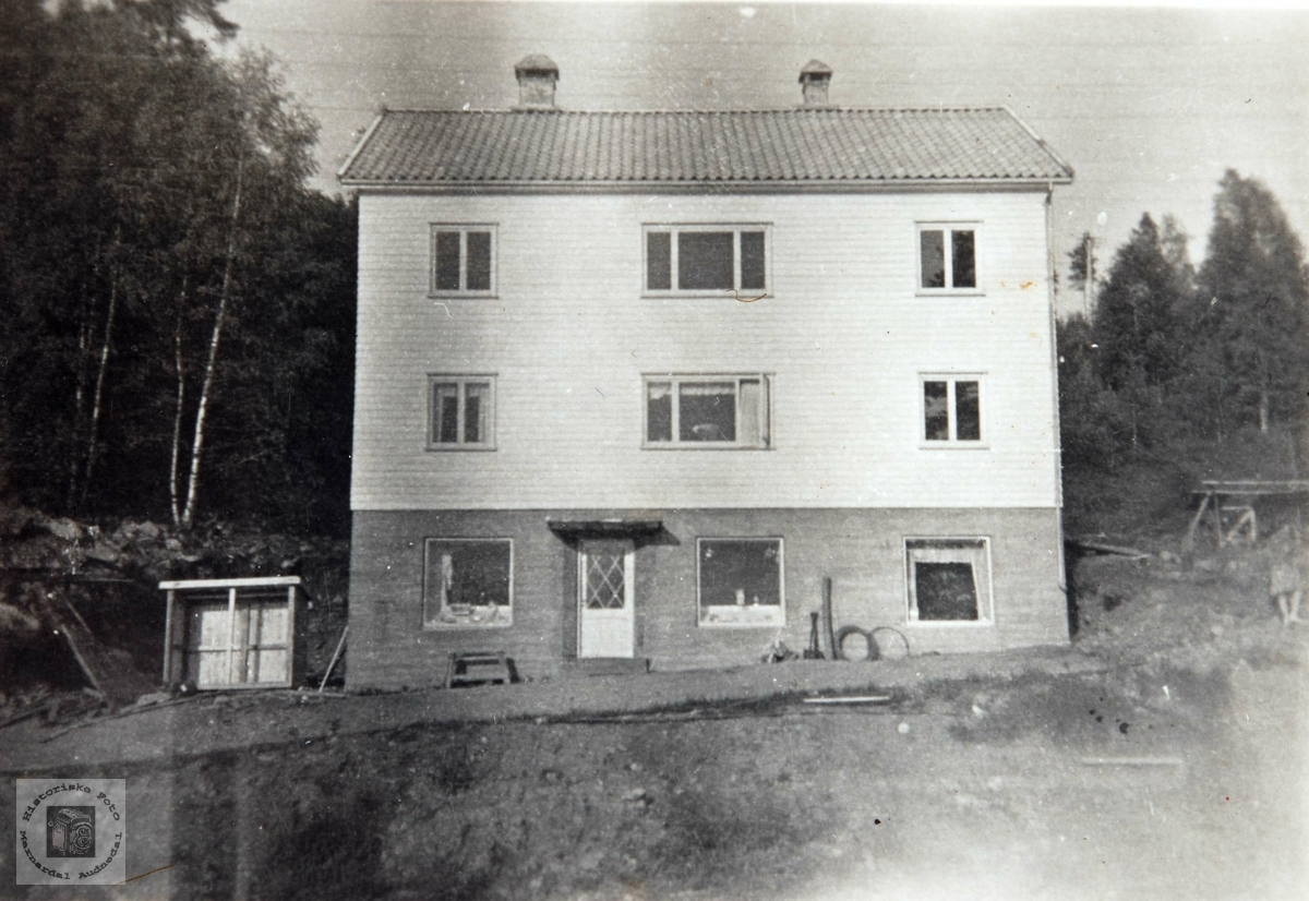Butikken i Ågedalstø, Bjelland. Audnedal.
