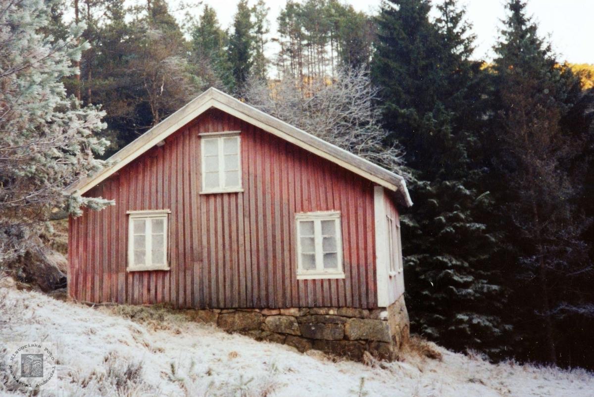 Hjemmet til Berthe Rebås. Grindhiem Audnedal.