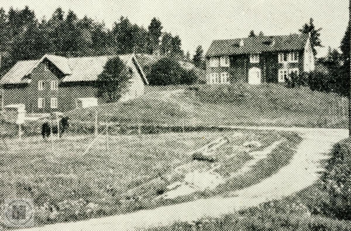 Gamlehusa på Leland, Grindheim.