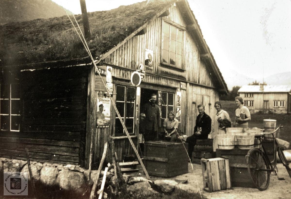 Bilde av Rysstad Landhandel på Rysstad i Setesdal.