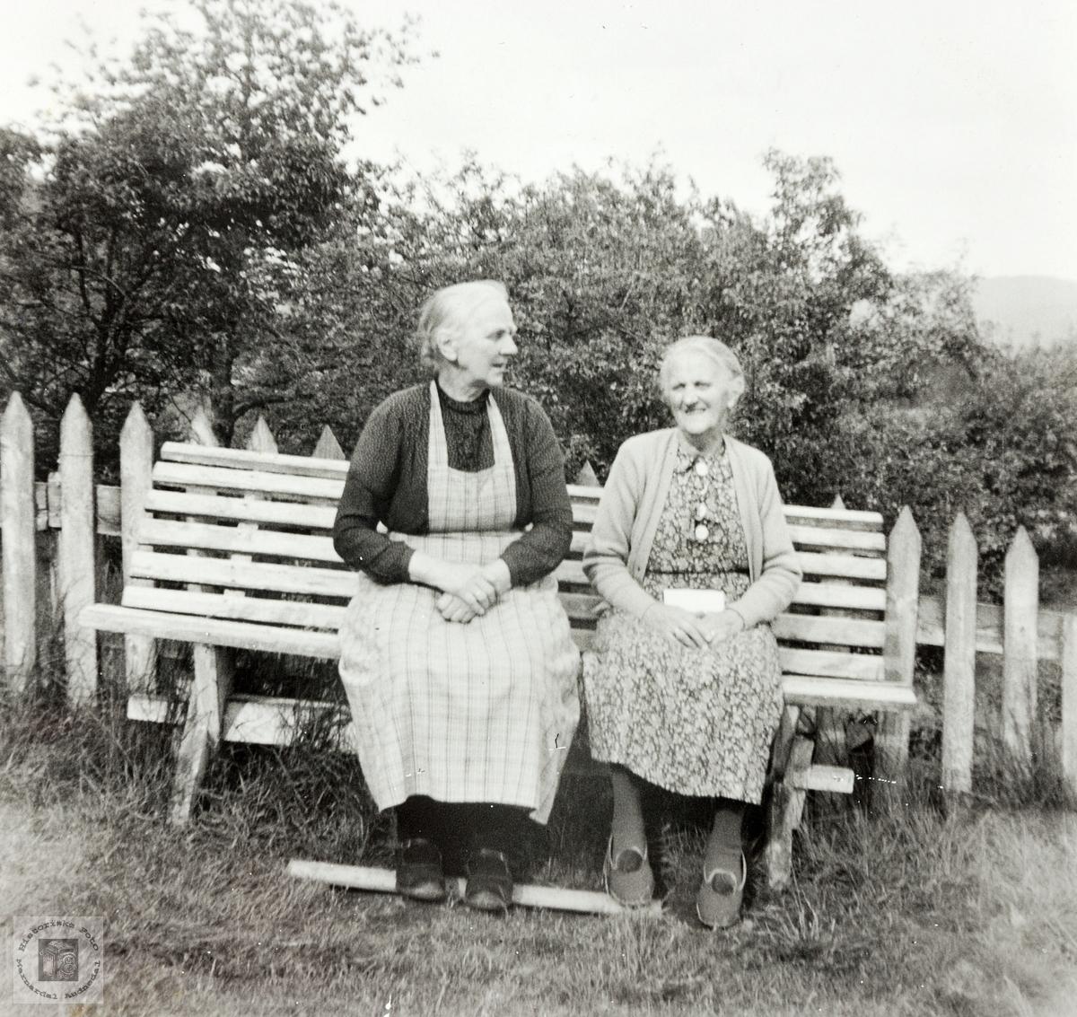 Søsknene Høyland, Grindheim.
