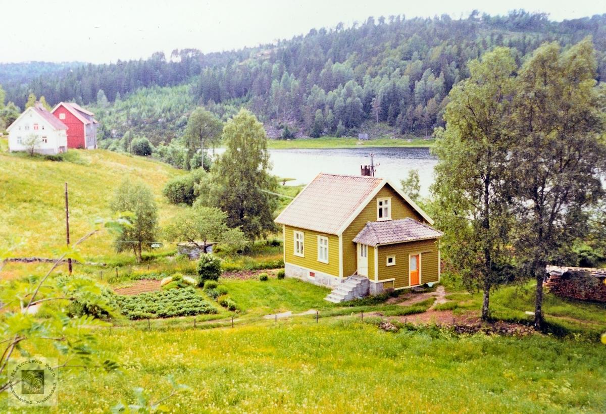"""""""Lillas hus"""" Kjønnebakken på Ubostad. Grindheim Audnedal."""