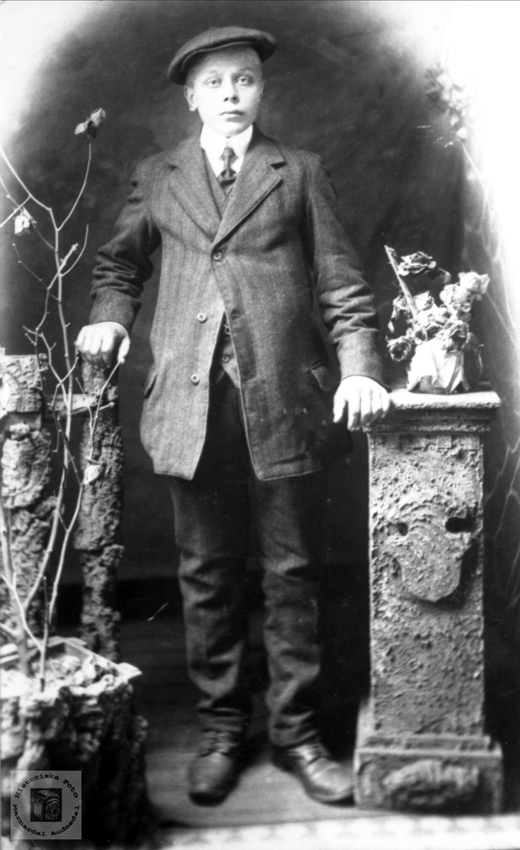 Portrett Ole Bentsen Hestebeitet f 1898, Øyslebø.