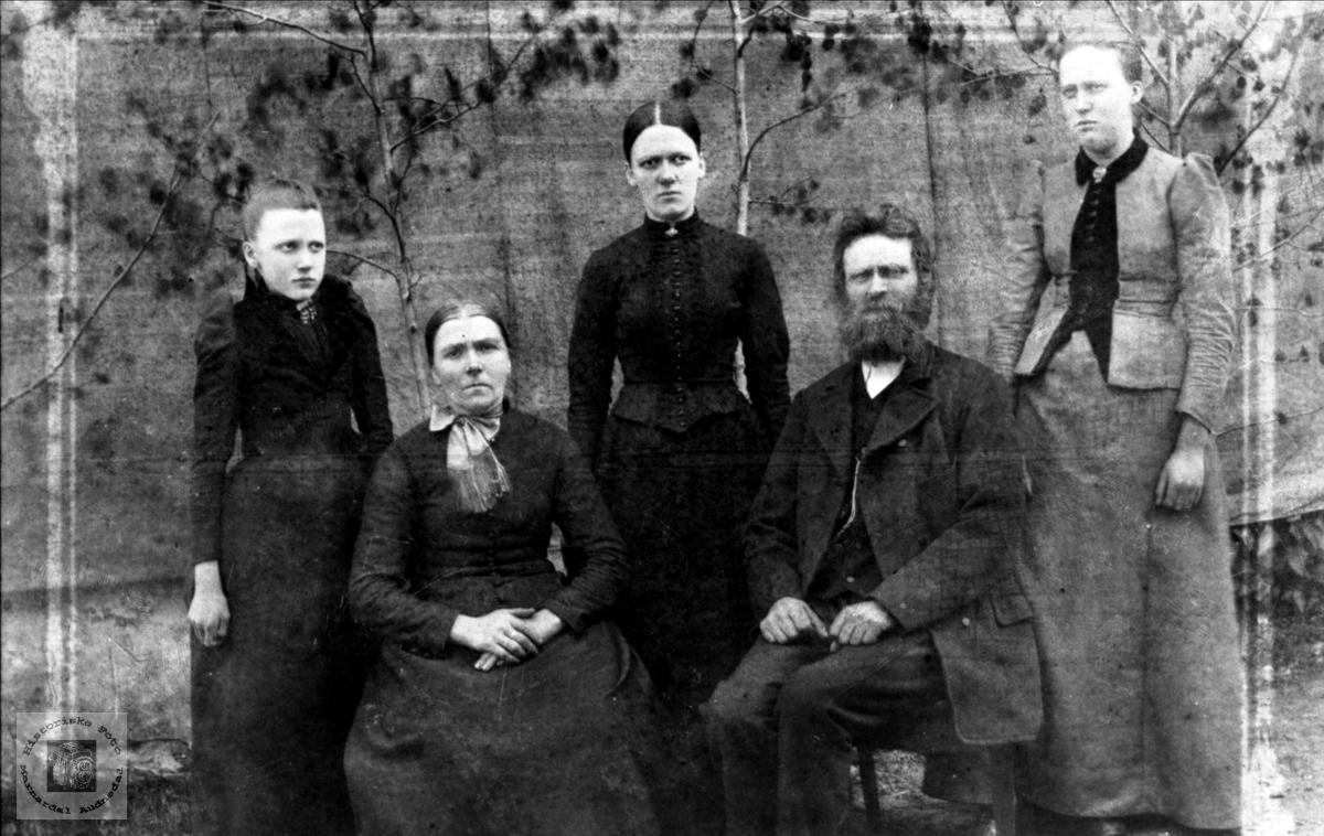 Familiegruppe Kjær, Øyslebø og Usland, Øyslebø.