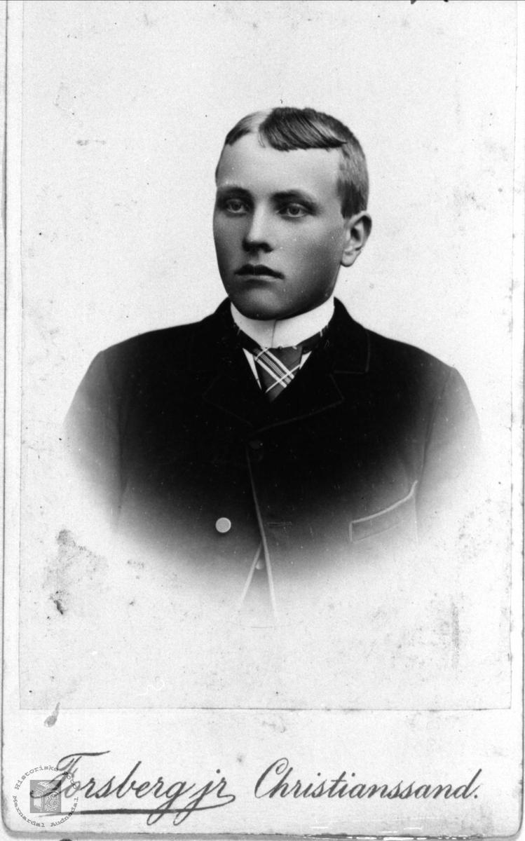 Portrett av Anders Birkeland, Øyslebø.