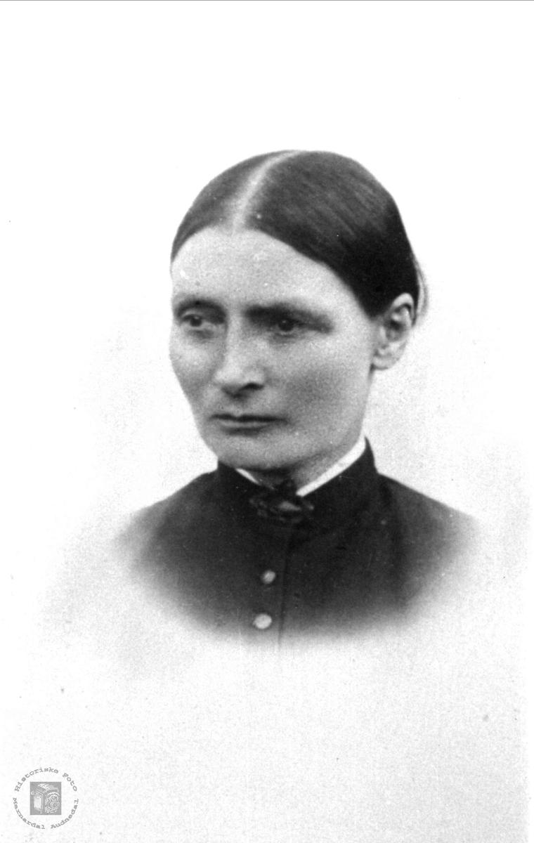 Portrett av Marie Bruskeland