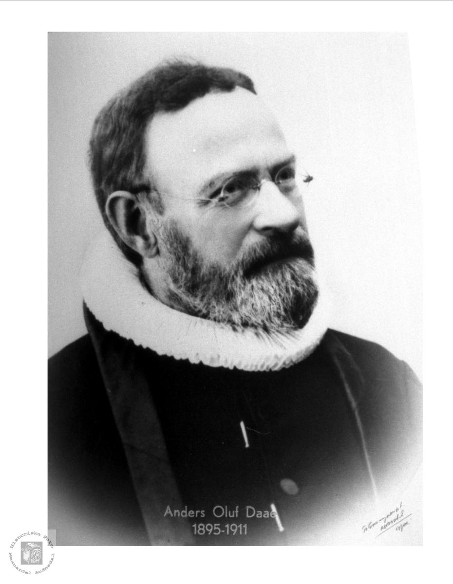 Prest Anders Oluf Daae