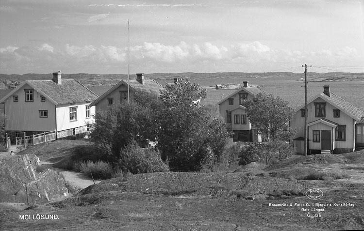 """Enligt AB Flygtrafik Bengtsfors: """"Mollösund längst söderut Bohuslän""""."""