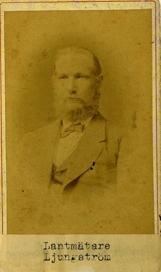 Lantmätare Jonas Patrik Ljungström (1827 - 1898)