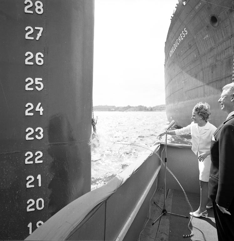 Dop av M/S Björgfjell