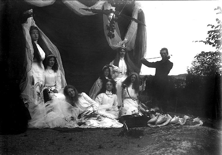 Utomhusteater kring sekelskiftet 1900