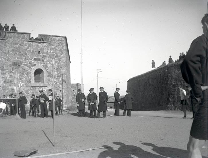 Idrottstävlingar med Skeppgossekåren april 1923.