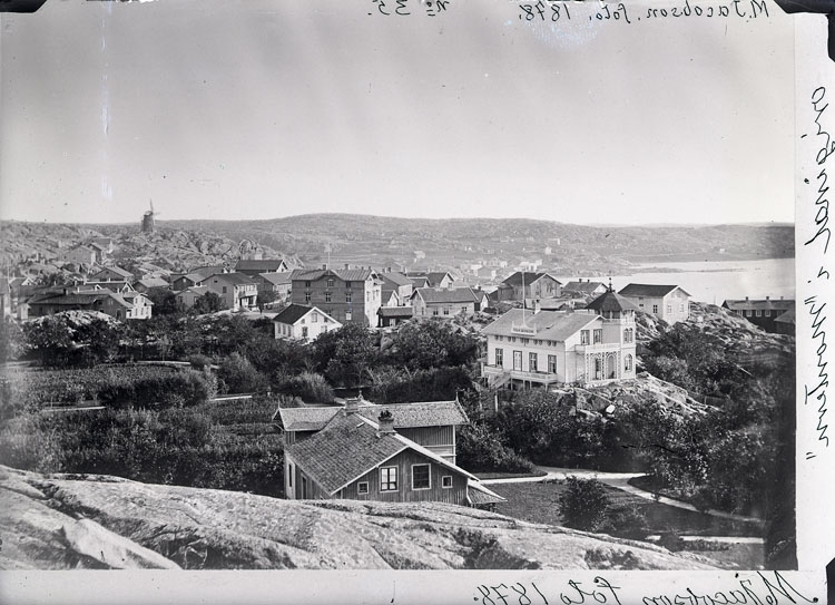 "Enligt text som medföljde bilden: ""M. Jacobson foto 1878. Original ""Montern"". Enligt text som medföljde bilden: ""Parken 1877-1878 Foto M. Jacobson Nr. 35 i albumet""."