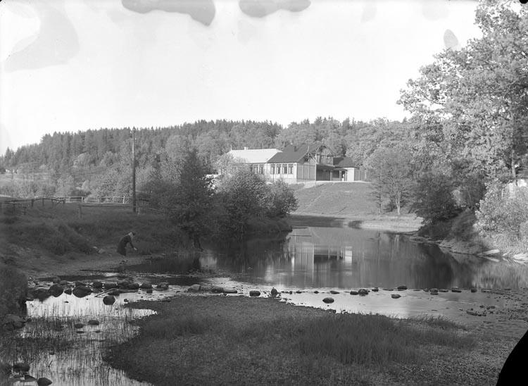 """Enligt fotografens noteringar: """"Föreläsningssalen i Munkedal 1931."""""""