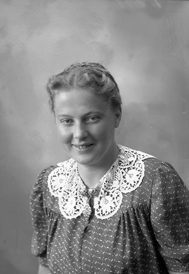 """Enligt fotografens journal nr 7 1944-1950: """"Rode, Fr. Inger Ullevåls sjukhus Oslo""""."""