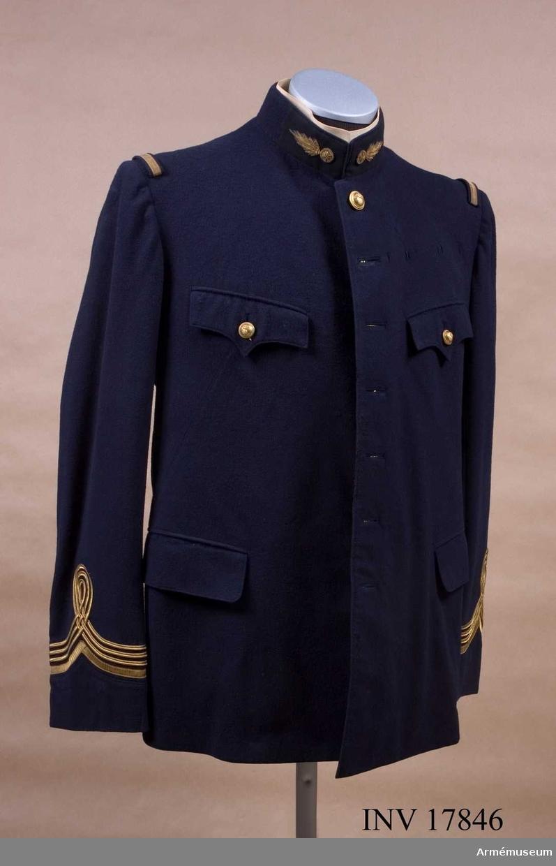 Grupp C I. Ur uniform för major i fransk tjänst, Toukin, Frankrike.