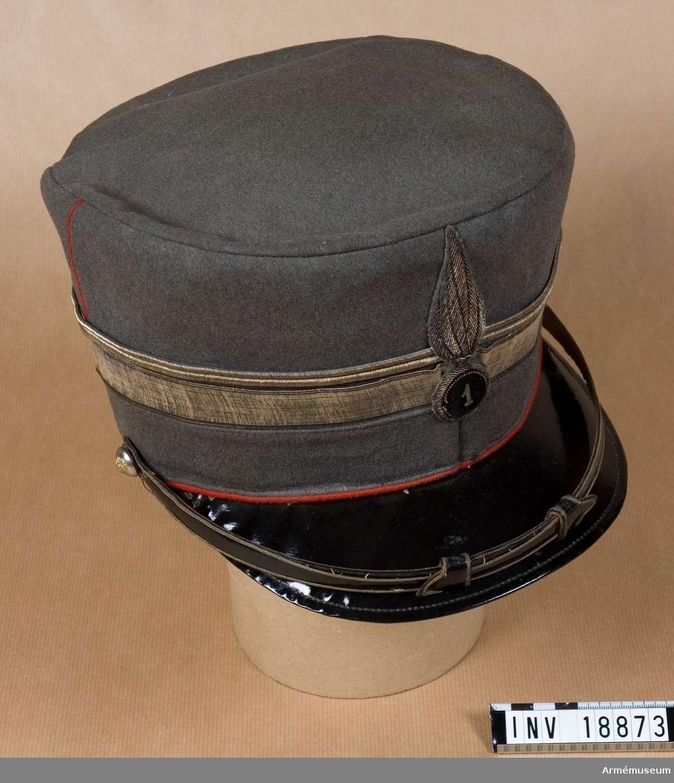Grupp C I. För major vid grenadjärregementet Carabinieri. Förlaga till svensk m/1923.