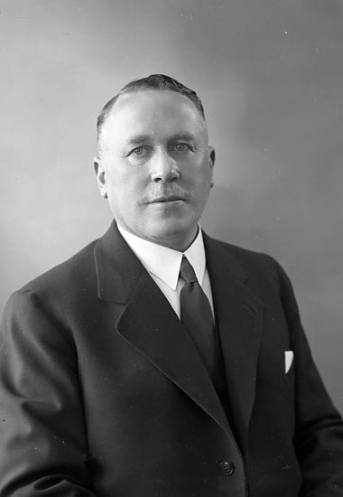 "Enligt fotografens journal nr 6 1930-1943: ""Rehnberg, Herr Joakim Stenungsund""."