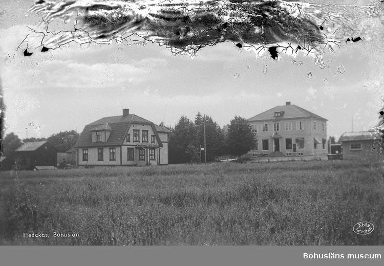 """Notering på fotot: """"Hedekas, Bohuslän""""."""