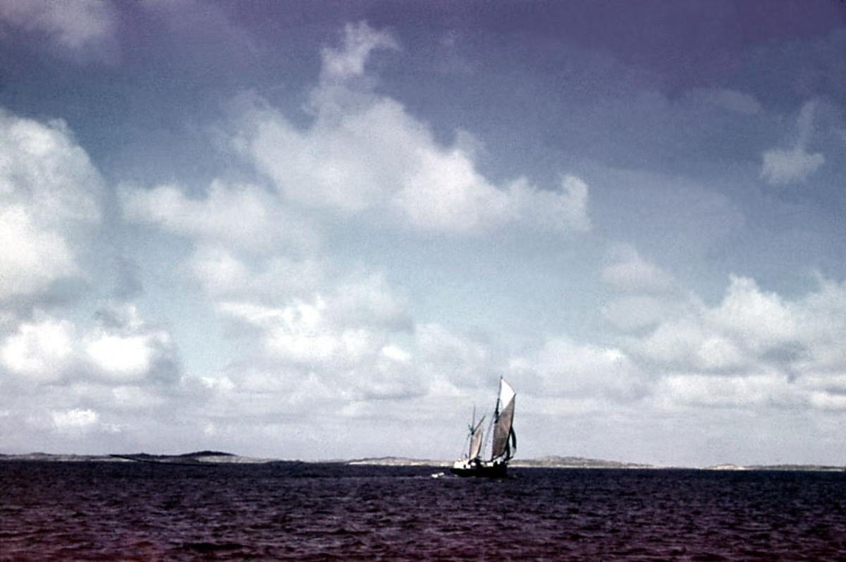 Enligt noteringar: 70 st. ramade dia. + 5 st. burkar med oramade dia. Båtar, Varv, Hav, Människor.  Film nr. 128