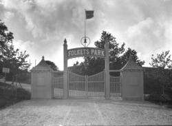 Folkets Park i Uddevalla 1930