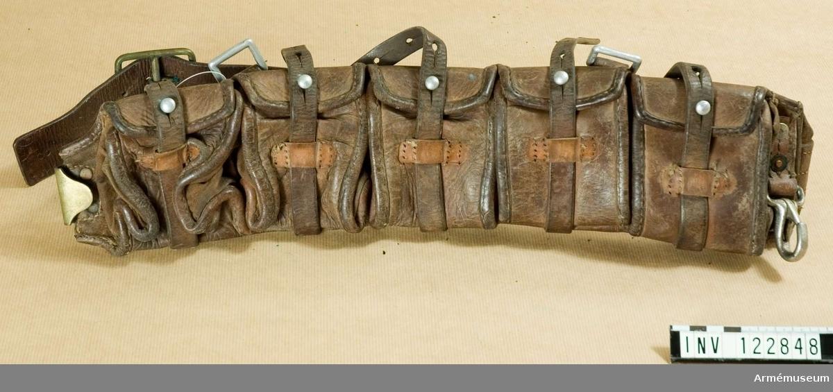 Ammunitionsgördel m/1900-12