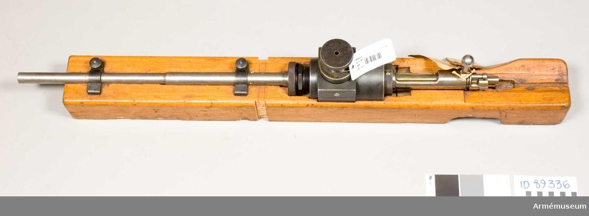 Ammunitionsprovningspipa